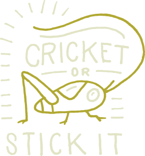 Cricket or stick it